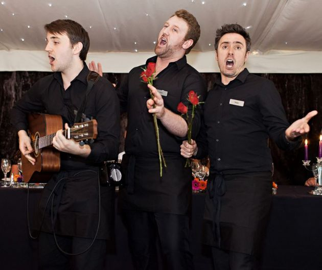 Singing Waiter Trio