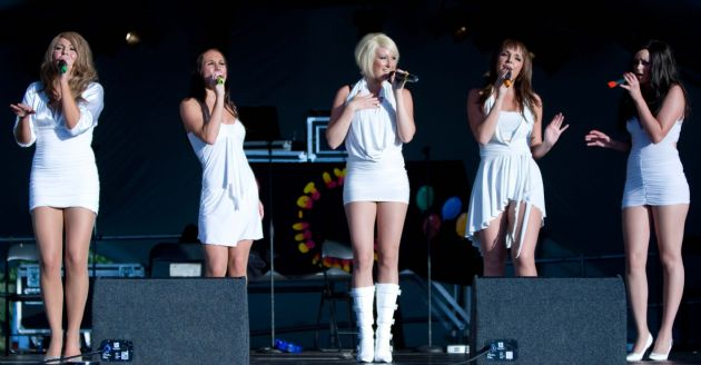 Gallery: Girls Aloud Tribute