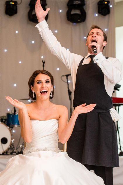 Singing Waiters Hire Now For Weddings Events Parties