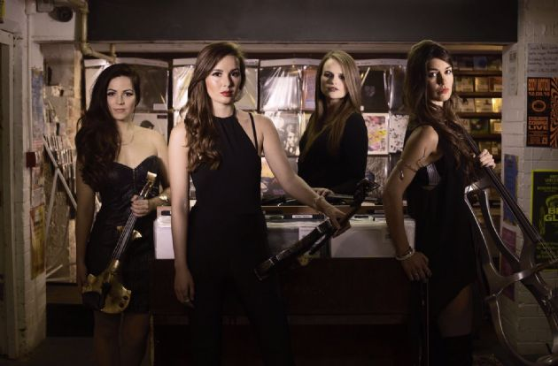 Gallery: V Electric String Quartet